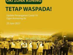 OKI Zona Kuning Covid, Masyarakat Diminta Tetap Waspada