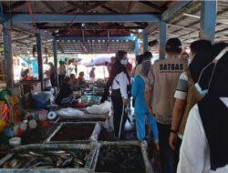 Sidak Prokes di Pasar Kayuagung