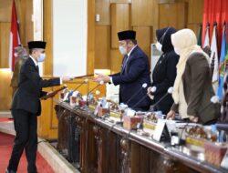 DPRD Sumsel Menyetujui Pertanggungjawaban Pelaksanaan APBD TA 2020