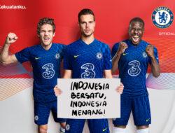 3 Indonesia X Chelsea FC Bekerjasama Untuk Membawa Penggemar
