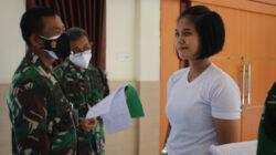 Sidang Parade Calon Bintara (CABA) Prajurit Karier (PK) TNI-AD Pria Sumber Keahlian dan Wanita Reguler TA 2021