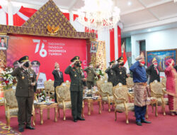 Pangdam II Sriwijaya Hadiri Upacara Detik-detik Proklamasi Kemerdekaan RI