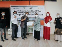 Kolaborasi ACT dan PLN S2JB, Bagikan Paket Pangan untuk Warga Isoman