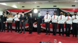 Polsekta Kertapati Meraih Penghargaan dari Ketua DPRD kota Palembang
