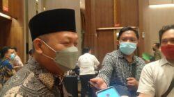 Ketua DPW PKB Sumsel, Ramlan Holdan, acara virtual di Hotel Ecelton, Kamis (26/8)