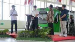 Launching Pengoperasian Kereta Api Bandara Yogyakarta International Airport (KA Bandara YIA), Jumat (27/08/2021), di Stasiun KA Bandara YIA, Kulonprogo, Daerah Istimewa Yogyakarta (DIY).