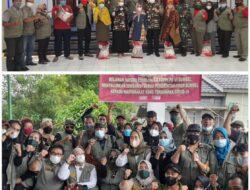 Momen HUT FKPPI Ke-43, Relawan FKPPI Sumsel Salurkan Beras