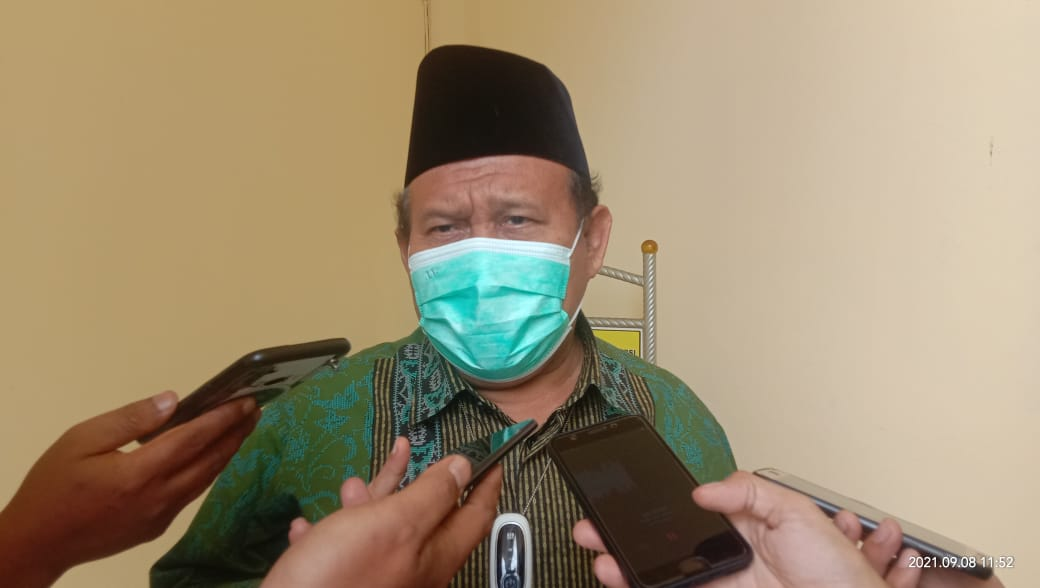 Ketua Tim Panitia Pelaksana (Pansel) KPID Sumsel, Drs KH Amiruddin Nahrawi