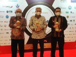 Bank BPR Sumsel Kembali Raih Top BUMD Award 2021