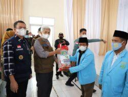 Pemprov Sumsel Gelontoran 5 Ton Beras Masyarakat Pagaralam Terdampak Pandemi