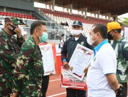 Kasdam II/Sriwijaya Hadiri Peringatan Haornas 2021