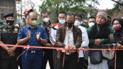 acara Garand opening UMKM mitra Kodam ll/Swj, di Komplek Gudang Siad Sekojo Jalan Urif Sumoharjo Palembang, Sabtu (11/9/2021)