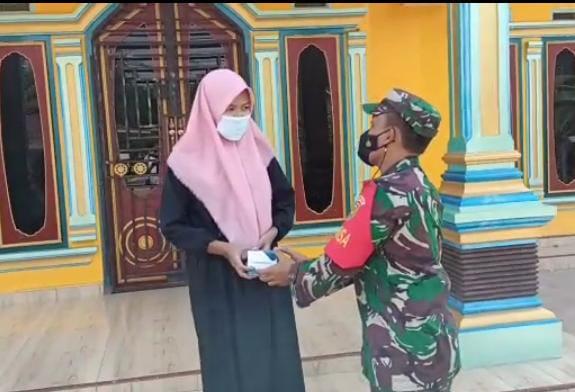 Desa Karya Usaha kecamatan Mesuji Makmur Kabupaten OKI, Sabtu (11/09/21).