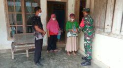di Dusun I RT.01 RW.01 Desa Bina Karsa dan Dusun III RT.09 Desa Gading Sari Kec. Mesuji Makmur Kab.OKI, Senin (13/9/21).