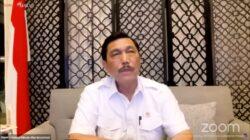 Menteri Koordinator Bidang Maritim dan Investasi (Menko Marves) Luhut Binsar Pandjaitan
