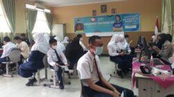 program Vaksinasi pelajar, SMP Negeri 1 Palembang menggelar vaksinasi massal