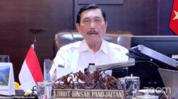 Menko Marves Luhut Binsar Pandjaitan dalam Keterangan Pers mengenai Perkembangan PPKM Terkini, Senin (20/09/2021) sore. (Sumber: Tangkapan Layar YouTube Sekretariat Presiden)