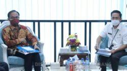 "rapat High Level Meeting ""Strategi Unggulan Pengendalian Inflasi/Deflasi di Kota Palembang"""